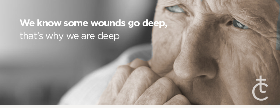 We know some wounds go deep - Therapy in Bank, London